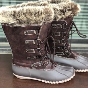 b2dab5a546ae3 Shoes - Yuu Fiona Midcalf Brown Boots